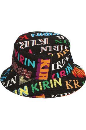 KIRIN Printed Cotton Denim Bucket Hat