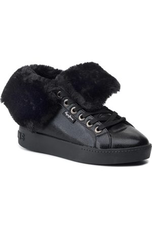 Pepe Jeans Sneakers - Brixton Flap PLS30889 Black 999