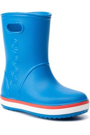 Crocs Gummistiefel - Crocband Rain Boot K 205827 Bright Cobalt/Flame