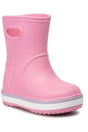 Crocs Crocband Rain Boot K 205827 Pink Lemonade/Lavender
