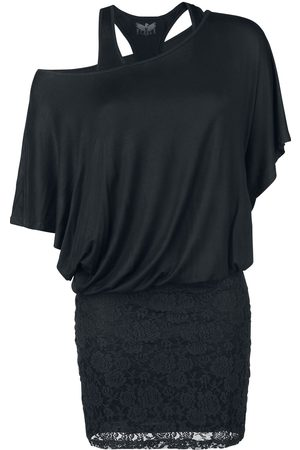 Black Premium by EMP Hold On Loosely Kurzes Kleid
