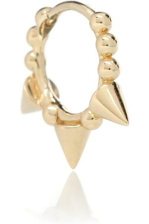Maria Tash Einzelner Ohrring Triple Spike Clicker aus 14kt Gold