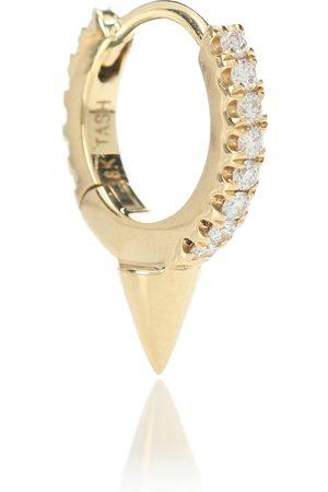 Maria Tash Damen Ohrringe - Einzelner Ohrring Single Spike Clicker aus 14kt und Diamanten