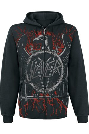 Slayer Black Eagle Kapuzenjacke