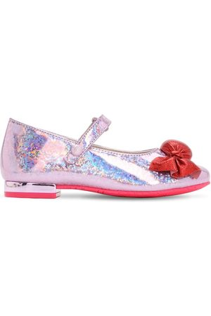 "SOPHIA WEBSTER Mary Jane-schuhe Aus Glitzerleder ""bonbon"""