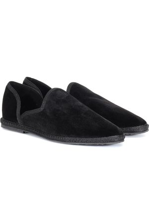 The Row Loafers Friulane aus Samt