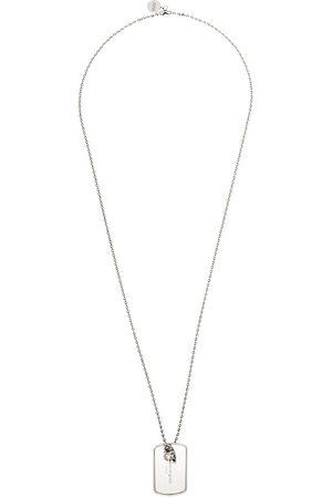 Alexander McQueen Halskette mit Erkennungsmarke