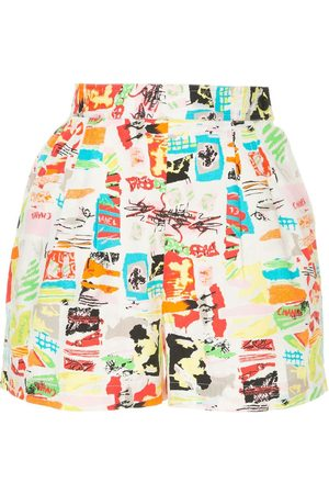 Chanel Pre-Owned Shorts mit Print