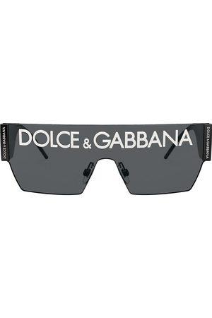 Dolce & Gabbana Sonnenbrille mit breitem Gestell