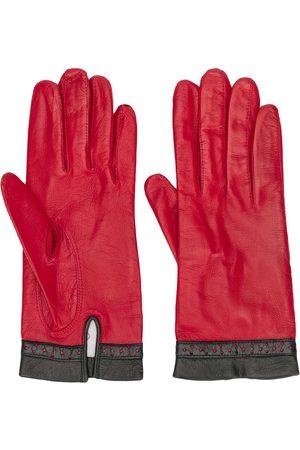Céline Perforierte Handschuhe