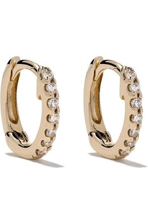 Dana Rebecca Designs Mini 14kt Gelbgoldcreolen mit Diamanten