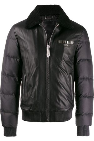 Philipp Plein Statement' Lederjacke