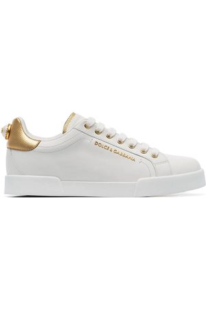 Dolce & Gabbana Sneakers mit Perle