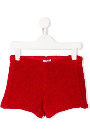 Il gufo Texturierte Shorts