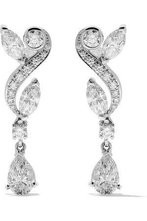De Beers 18kt 'Adonis Rose' Weißgoldohrringe mit Diamanten