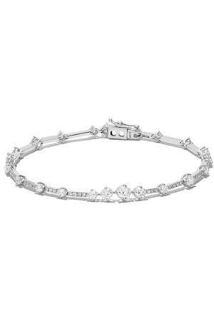 De Beers Damen Armbänder - 18kt 'Arpeggia' Weißgoldarmband mit Diamanten