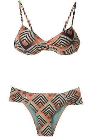 Lygia & Nanny Vitoria' Bikini mit Print
