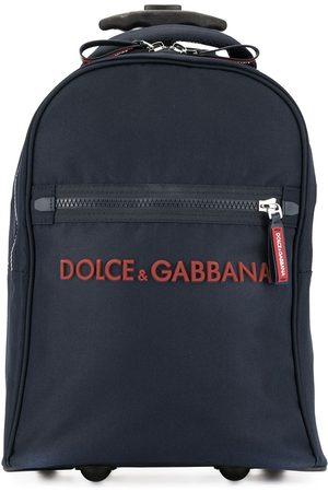 Dolce & Gabbana Rollkoffer mit Logo