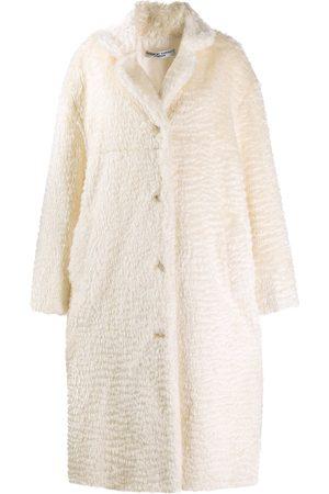 Katharine Hamnett London Velma' Mantel aus Faux Fur