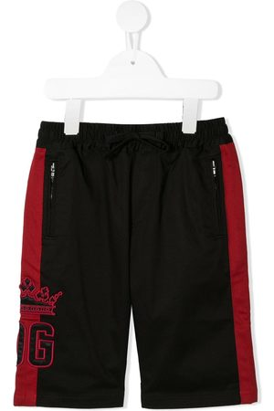 "Dolce & Gabbana Shorts mit ""King""-Patch"