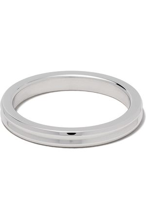 Le Gramme Horizontal Guilloche' Ring