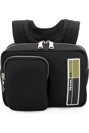 Prada Kleiner Rucksack mit Reißverschluss