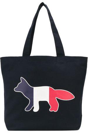 Maison Kitsuné Handtaschen - Bestickter Shopper