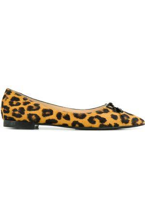 Prada Ballerinas mit Leopardenmuster