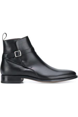 Scarosso Herren Stiefel - Stiefel mit Schnalle