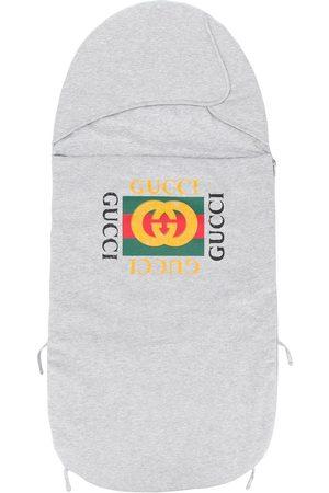Gucci Schlafsack mit Logo-Print