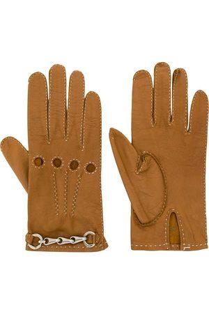 Céline Handschuhe mit Ketten