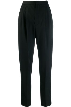 Saint Laurent Elegante Tapered-Hose