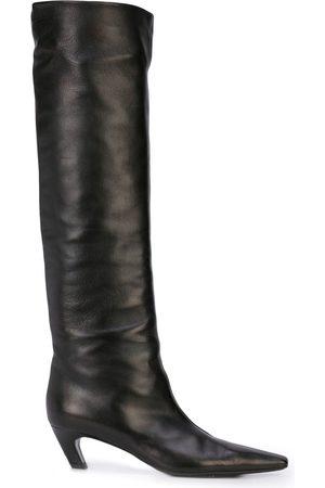 Khaite Damen Stiefeletten - Kniehohe Lederstiefel
