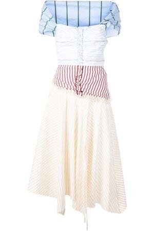 Rosie Assoulin Damen Freizeitkleider - Kleid im Patchwork-Look