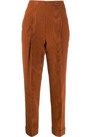 Romeo Gigli Pre-Owned Damen Hosen & Jeans - 1997 Cropped-Hose mit hohem Bund