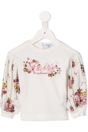 MONNALISA Langarmshirt mit Blumen-Print