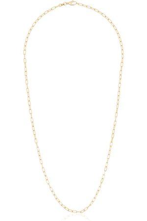 ROSA DE LA CRUZ Damen Halsketten - Klassische 18kt Gelbgoldhalskette