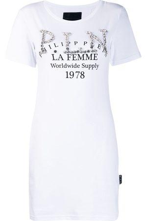 Philipp Plein Verziertes T-Shirt