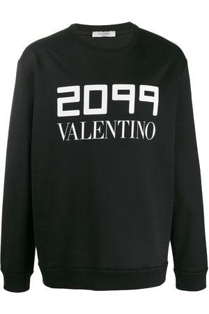 Valentino Pullover mit Logo-Print
