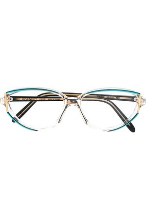 Givenchy Pre-Owned 1990s Brille mit ovalem Gestell