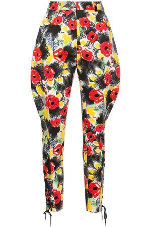 CHANEL Damen Hosen & Jeans - Hose mit Blütenmuster