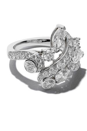 De Beers 18kt 'Adonis Rose' Weißgoldring mit Diamanten