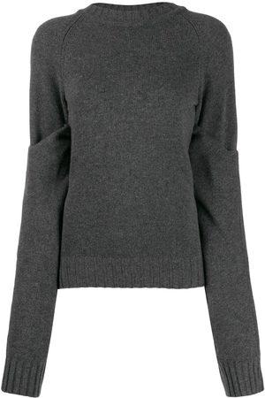 EUDON CHOI Damen Strickpullover - Lockerer Pullover