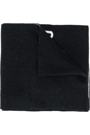 Moschino Schal mit Intarsien-Logo