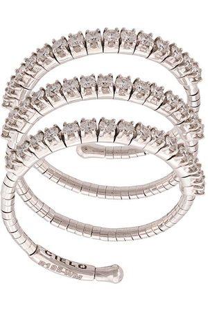 Mattia Cielo Damen Ringe - 18kt Weißgoldring