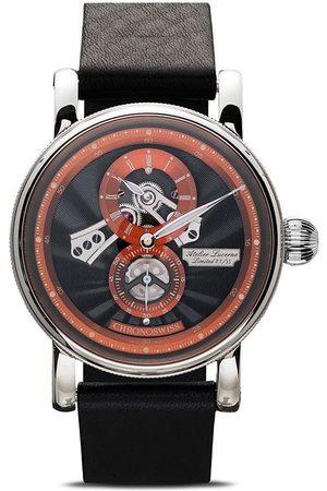 Chronoswiss Herren Uhren - Flying Regulator Open Gear Anniversary Edition 41mm Armbanduhr