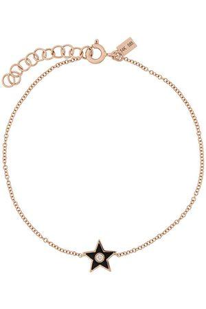 EF Collection 14kt Goldarmband mit einem Diamanten