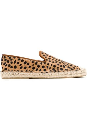 Blue Bird Espadrilles mit Animal-Print