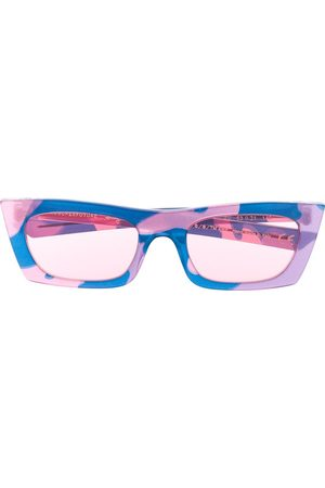 Retrosuperfuture Fred Camouflage' Sonnenbrille