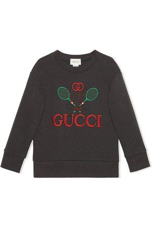 Gucci Jungen Sweatshirts - Sweatshirt mit Logo-Stickerei